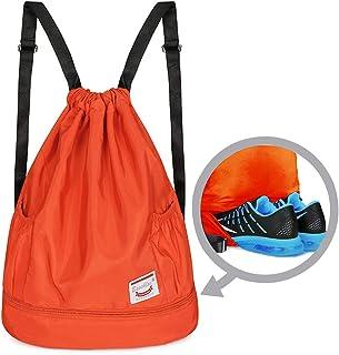 GymSack Drawstring Bag Sackpack Wild Deer Sport Cinch Pack Simple Bundle Pocke Backpack For Men Women