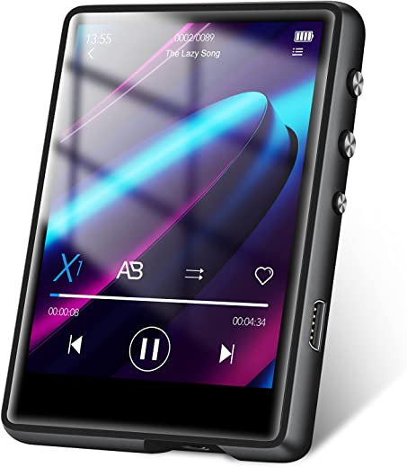 """32GB MP3 Player, MECHEN Portable Digital Music Player with Bluetooth 5.0 FM Radio, Recording, 2.4"""" Screen, HiFi Lossless Sound, Support up to 128GB..."""