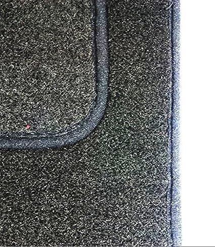 con los controladores Side Alfombra tal/Ã/³n Pad, Black//Blue Trim para  Mito 08/Â/en Sakura ss4550bu Alfombras de coche