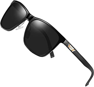 Unisex Metal Classic Polarized Night Driving Sunglasses with UV400 Protection 3029H