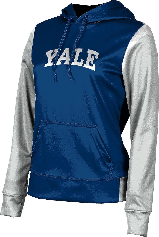 Yale University Girls' Pullover Hoodie, School Spirit Sweatshirt (Tailgate)