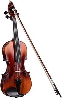 Vif Full Size 4/4 Handmade Stradivari 1721 Copy German Style Violin Fiddle Case Bow Music Hobby