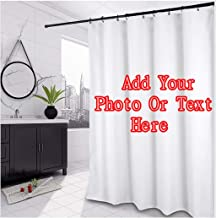 Personalized Custom Bathroom Shower Curtain 48x72-Add Your Own Designs Photo Here