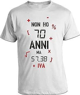 in Cotone Puzzletee T-Shirt Compleanno Non Ho 50 Anni ma 40,98 Idea Regalo Iva Magliette Simpatiche e Divertenti