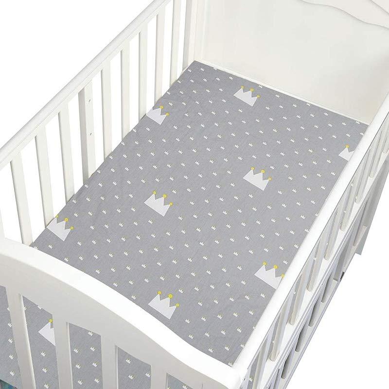 MiyaSudy Baby Sheets For Crib Infant Girls Boys Sheets Kids Bed Cover Mini Crib Sheet 51 1827 56 Inch Cotton Sheets