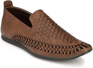 SHOE DAY Men's Roman Artificial Leather Sandals