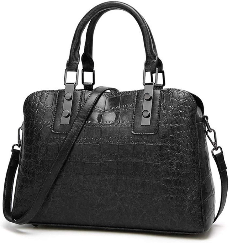 Mzdpp Luxus Krokoprägung Frauen Handtaschen Handtaschen Handtaschen Metall Verstärken Pu Ledertaschen Mode Top-Griff Taschen Hohe Qualität Totes Tasche B07JVXW45C  Sehr gelobt und vom Publikum der Verbraucher geschätzt 71d67b
