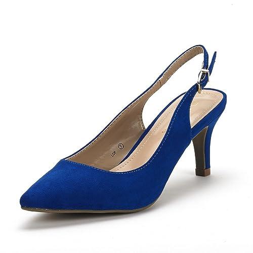 562df7f0141f DREAM PAIRS Women s LOP Low Heels Slingback Pump Shoes