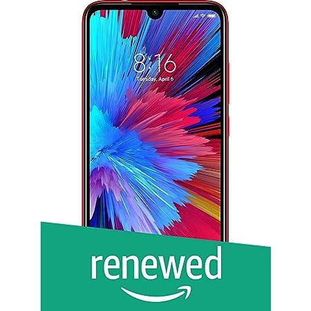 (Renewed) Redmi Note 7S (Ruby Red, 64GB, 4GB RAM)