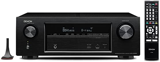 Denon AVR-X1200W 7.2 Channel Full 4K Ultra HD AV Receiver with Bluetooth and Wi-Fi