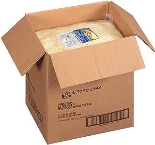Land O Lakes Extra Melt White Shredded American Cheese, 5 Pound -- 4 per case.