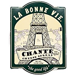 LA BONNE VIE, Imported French Garlic and Herb Fresh Cheese Spread, 4.4 oz