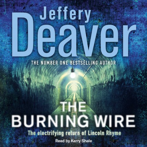 Burning Wire audiobook cover art