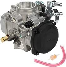 Qiilu Carburetor, Replacement 40mm Carburetor Carb 27421-99C 27490-04 27465-04