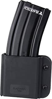Blade Tech Revolution AR-15/M4 Single Mag Vertical Pouch with Tek Lok for Right Hand (Black)