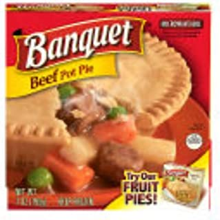 Conagra Banquet Beef Pot Pie, 7 Ounce -- 24 per case.