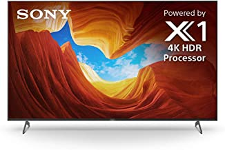 Sony X900H 65 Inch TV: 4K Ultra HD Smart LED TV with HDR, Game Mode for Gaming, and Alexa Compatibility - 2020 Model