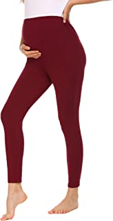 Maternity Leggings Pregnant Women Tights Activewear Pants Stretch Nursing Clothes