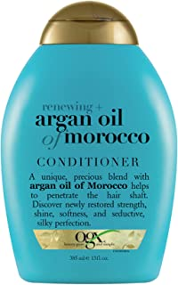 OGX Renewing + Argan Oil of Morocco Hydrating Hair Conditioner, Cold-Pressed Argan Oil to Help Moisturize, Soften & Streng...