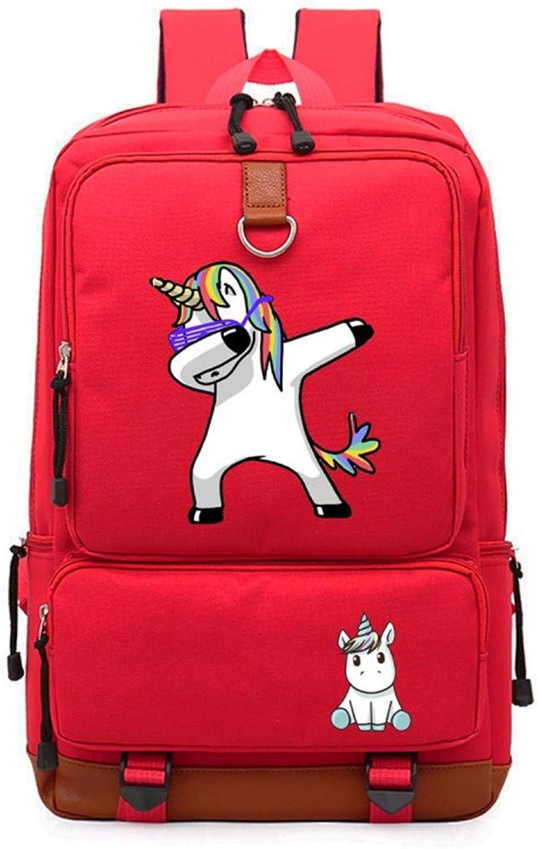 Unicorn Bag Casual Teen Men's and Women's Backpack
