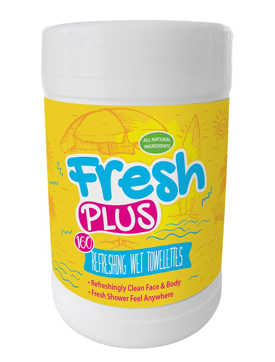 Fresh Plus Superlatite Everyday Refreshing Towelettes a Fee Shower for Max 65% OFF