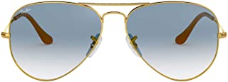 Ray-Ban Rb3025 Classic Gradient Aviator Sunglasses
