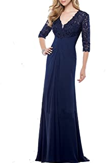 CladiyaDress Women V Neck Sequins Long Evening Dress Cocktail Gowns with Sleeves D233LF