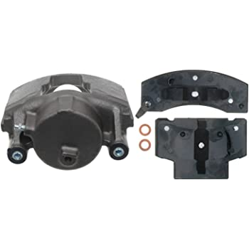 ACDelco 18R741 Professional Front Passenger Side Disc Brake Caliper Assembly with Pads Loaded Remanufactured