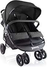 Best Joovy Scooter X2 Double Stroller, Side by Side Stroller, Stroller for Twins, Large Storage Basket, Black Reviews