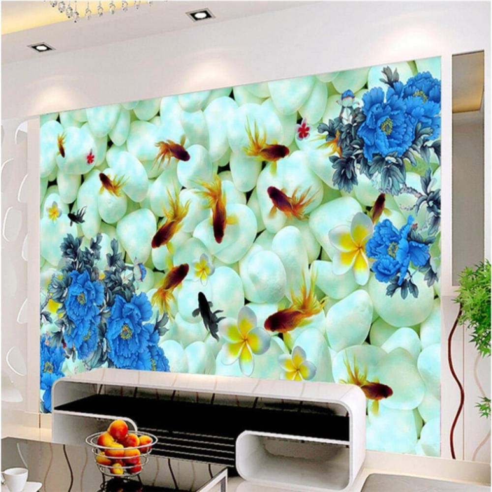 Pbldb Removable Large Custom Mural Rose Pe Stone Wallpaper Complete Free Shipping included Shipping