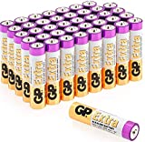 Batterie AAA - Confezione da 40 Pile Ministilo AAA / LR03 / Batterie Alcaline da 1,5 V - E...