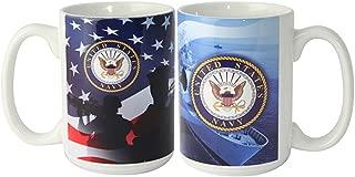 U.S. Navy military coffee mug 15oz.