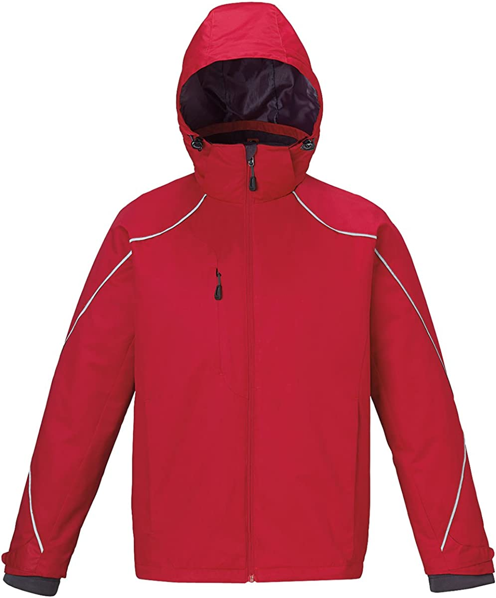 North End Men's Tall Angle 3-in-1 Fleece Jacket, 4XT, CLASSIC RED 850