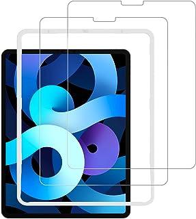 NIMASO iPad Air 4 (2020) / iPad Pro 11 (2021 / 2020 / 2018) 用 ガラスフィルム 保護フィルム ガイド枠付き 2枚セット NTB19J43