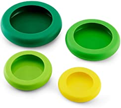 Silicone Fruit And Vegetable Fresh-keeping Cover, Four-piece Fruit Fresh-keeping Cover, 4pcs Mixed Colors Safe and durable
