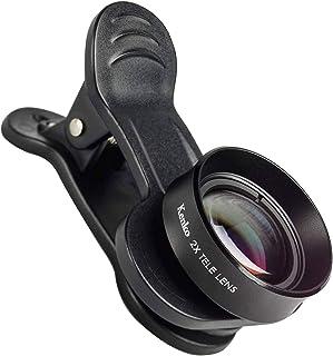 Kenko スマートフォン用交換レンズ 大きく写す SNSマスター テレ2× デュアルレンズ対応クリップ式 SNS-2t