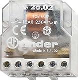 Finder 260282300000PAS - Caja de interruptores de control remoto 2 NA 230 VCA 10 A