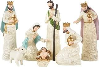 farmhouse nativity set