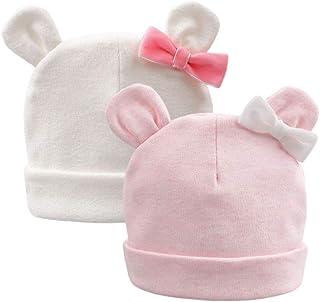قبعة قطنية لحديثي الولادة للرضع والأولاد والبنات قبعة لينة لمستشفى الأطفال