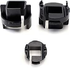iJDMTOY (2) H7 Xenon or LED Bulbs Holders Adapters For Kia Forte Koup or Kia Rio Halogen Headlamp Installing Xenon Headlight Kit