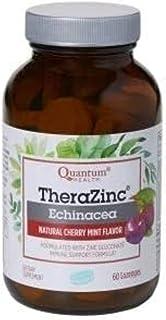 TheraZinc Echinacea Lozenges Cherry Mint Quantum 60 Lozenge