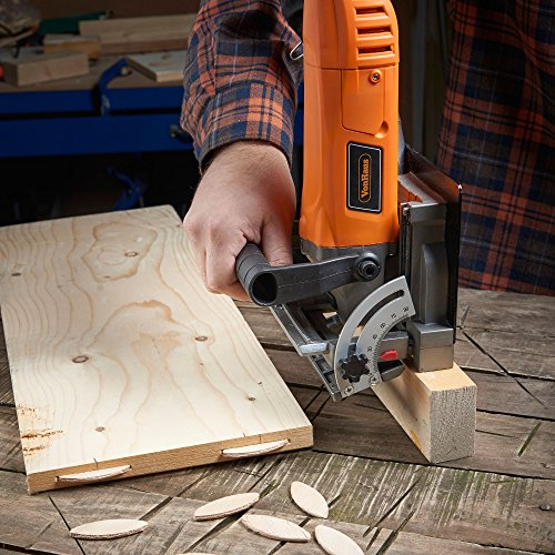 VonHaus 8.5 Amp Wood Biscuit Plate Joiner with 4