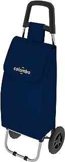 Colombo Carrello per la Spesa, Blu, Sacca 40 Litri