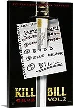 Kill Bill: Vol. 2 - Movie Poster Canvas Wall Art Print, 12