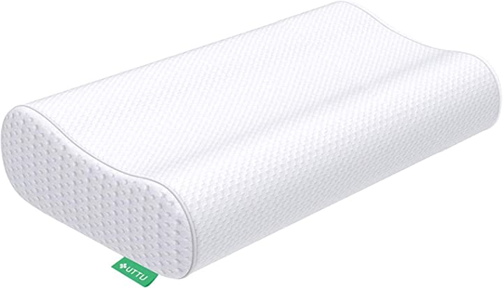 Cuscino cervicale memory, cuscino e fresco, guanciale letto in memory foam ergonomico altezza regolabile B07C549VCV