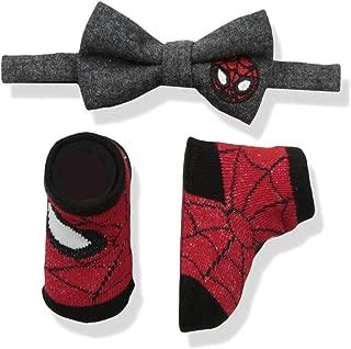 Marvel Baby Boys Avengers Bowtie & Sock Set