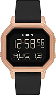 Nixon Siren SS Women's Water-Resistant Digital Watch (36mm. Ultra-Soft Silicone Band)