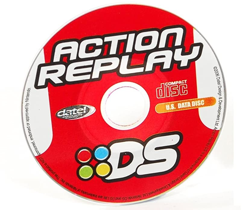 Datel Action Replay Code Manager CD Rom Software Data Disc for AR DS / DS Lite Nintendo Pokemon Cheat Codes