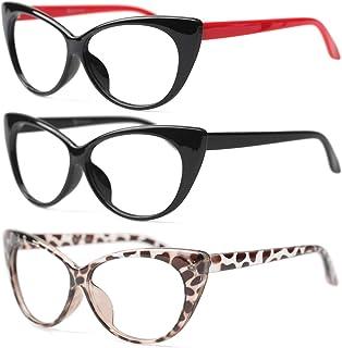 عینک SULALA 3 جفت بسته طراح مد عینک گربه چشم خانمها برای خانم ها