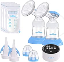 Electric Double Breast Pump Eccomum Breastfeeding Pump with 4 Modes & 9 Levels,..